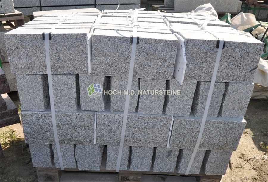 granitbl cke f r st tzmauer gartenmauer bruchsteine. Black Bedroom Furniture Sets. Home Design Ideas