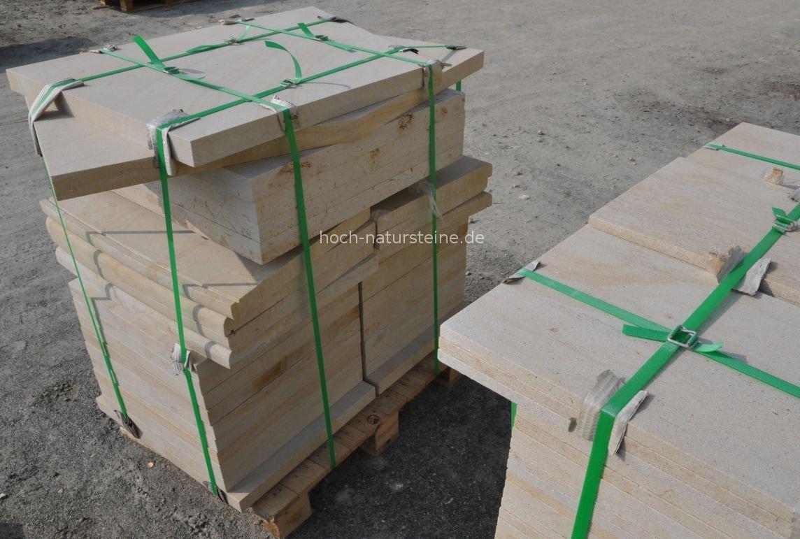 Sandsteinplatten Gelb 30x40x4 Cm Platten Aus Sandstein