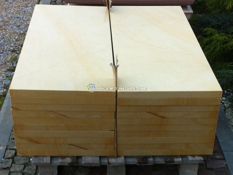sandsteinplatten gelb 30x40x4 cm platten aus sandstein. Black Bedroom Furniture Sets. Home Design Ideas