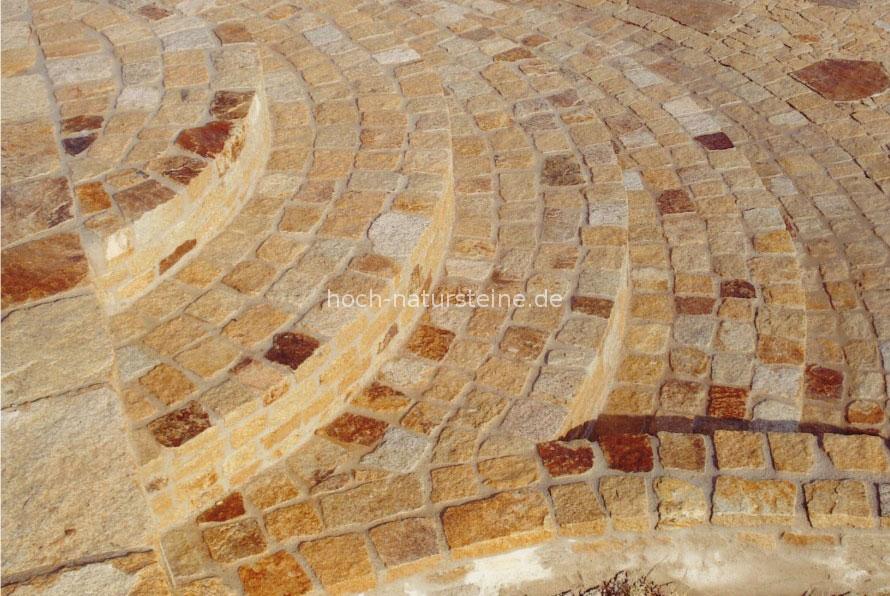 hoch m d natursteine ug verlegung pflasterarbeiten referenzen granit granitpflaster. Black Bedroom Furniture Sets. Home Design Ideas