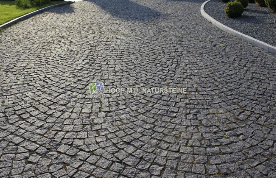 Verlegemuster Granitpflaster referenzen