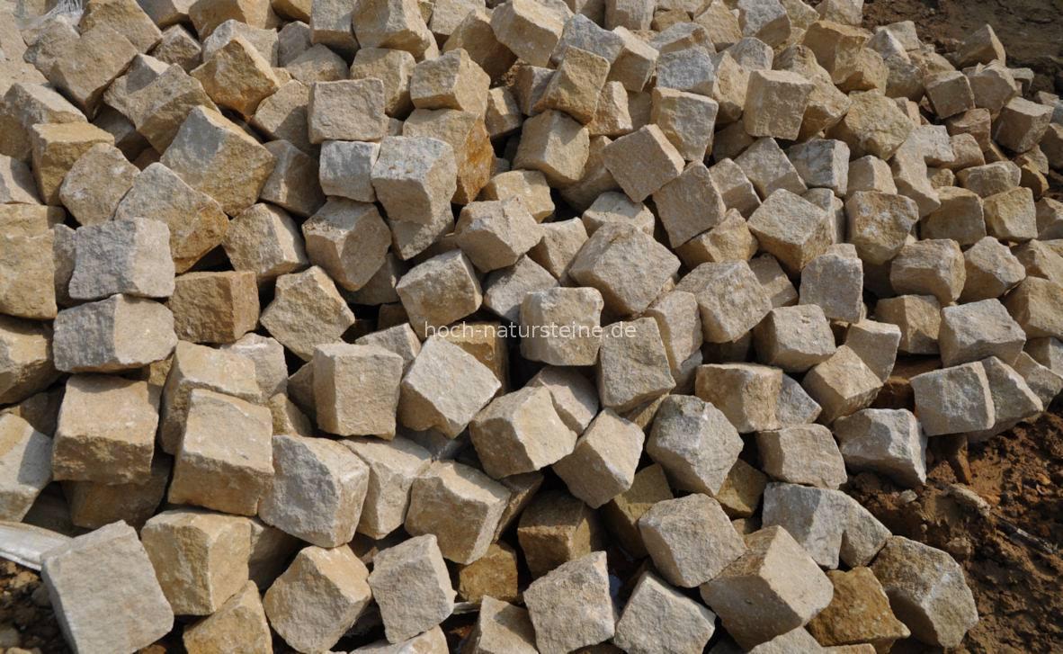 sandsteinpflaster aus quarzsandstein  frost und